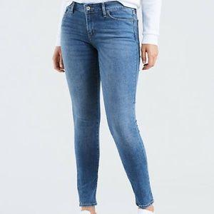 Levi's Slight Curve Mid Rise Skinny Jeans 0 25